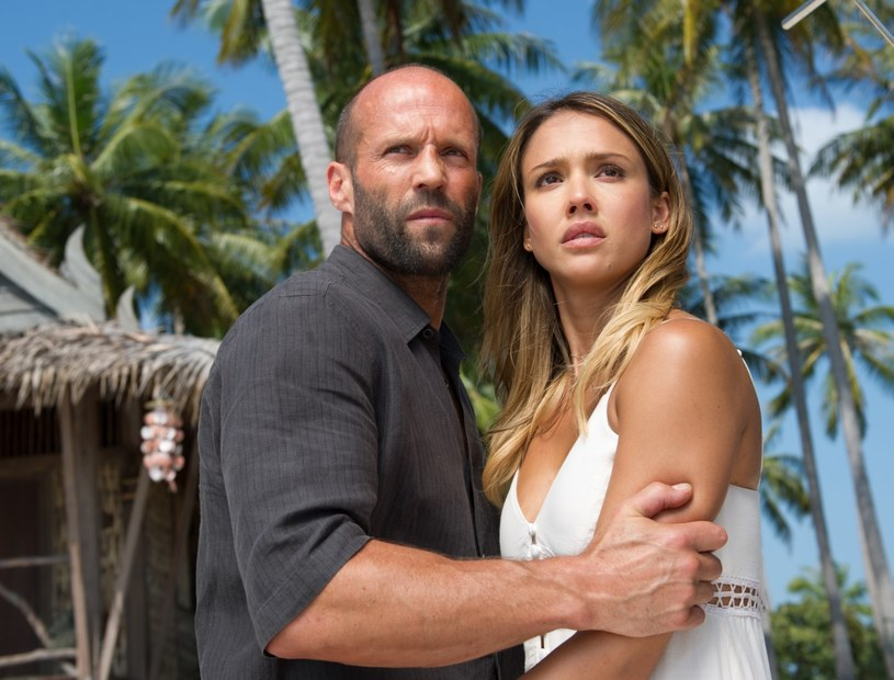 """Jason Statham i Jessica Alba grają główne role w thrillerze akcji """"Mechanik: Konfrontacja"""" /materiały prasowe"""