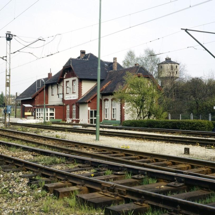 Jastrzębie-Zdrój, dworzec kolejowy /LECH ZIELASKOWSKI /Reporter