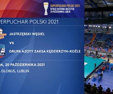 Jastrzębski Węgiel - Grupa Azoty ZAKSA Kędzierzyn-Koźle. Skrót meczu. WIDEO (Polsat Sport)