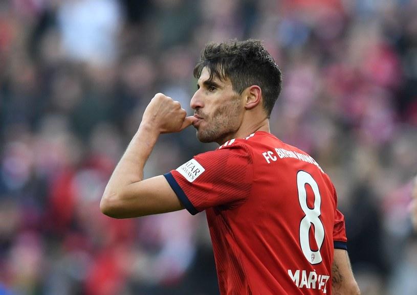 Javi Martinez z Bayernu /AFP