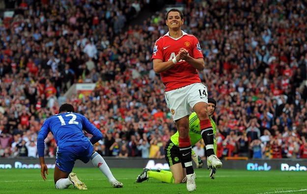 Javier Hernandez, napastnik Manchester United /AFP