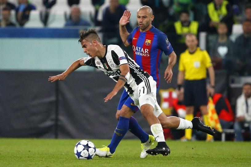 Javier Mascherano podczas meczu z Juventusem /AFP