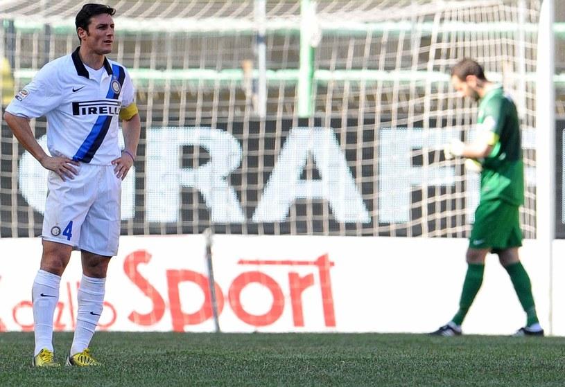 Javier Zanetti długo nie wróci na boisko /AFP