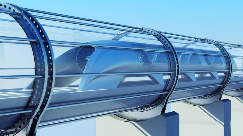 Jaworzno chce udostępnić teren pod tor testowy hyperloopa /123RF/PICSEL