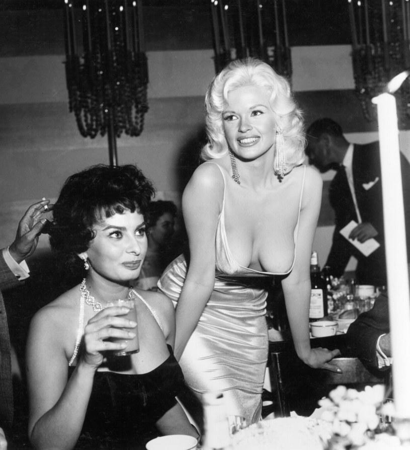 Jayne Mansfield i Sophia Loren /Earl Leaf/Michael Ochs Archives /Getty Images