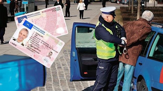 jazda bez prawa jazdy /Motor