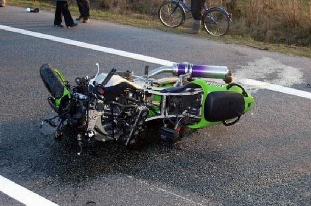 Jazda na motocyklu jest ryzykowna /