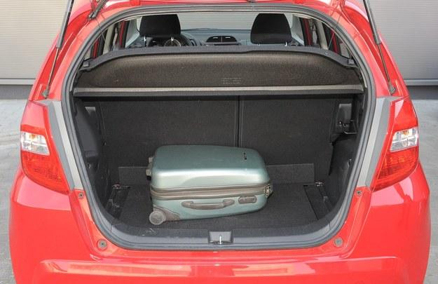 jazz bagażnik /Motor