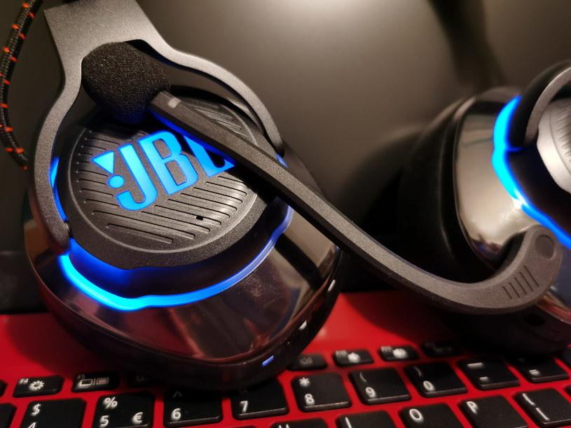 JBL Quantum 800 - mikrofon /INTERIA.PL