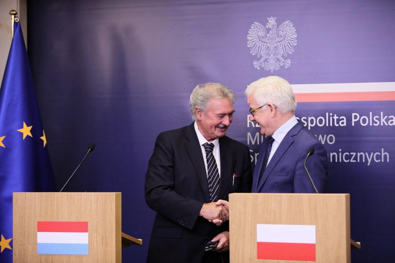 Jean Asselborn, Jacek Czaputowicz / PAP/Leszek Szymański /PAP