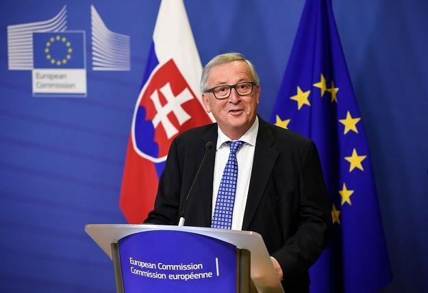 Jean-Claude Juncker, przewodniczący Komisji Europejskiej /AFP
