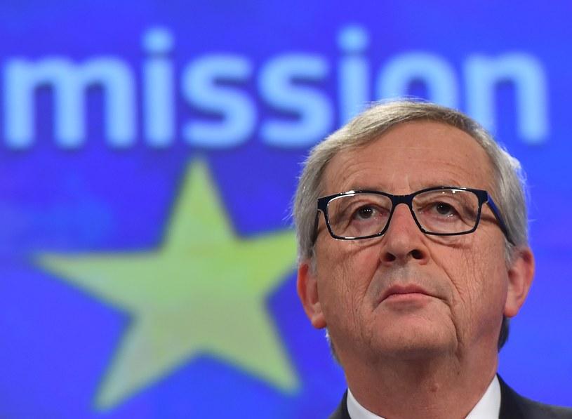 Jean-Claude Juncker przypomniał o pomyśle wspólnej europejskiej armii /AFP