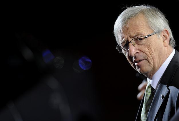 Jean-Claude Juncker, szef eurogrupy /AFP