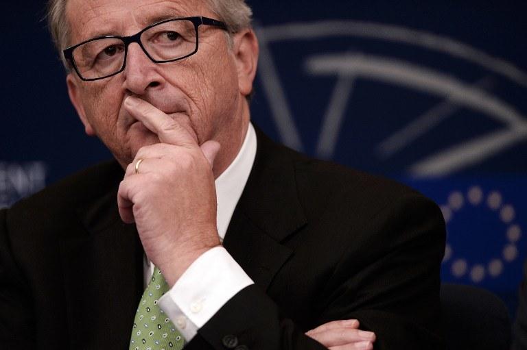 Jean Claude Juncker /AFP