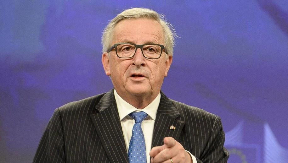 Jean-Claude Juncker / Wiktor Dąbkowski    /PAP/EPA