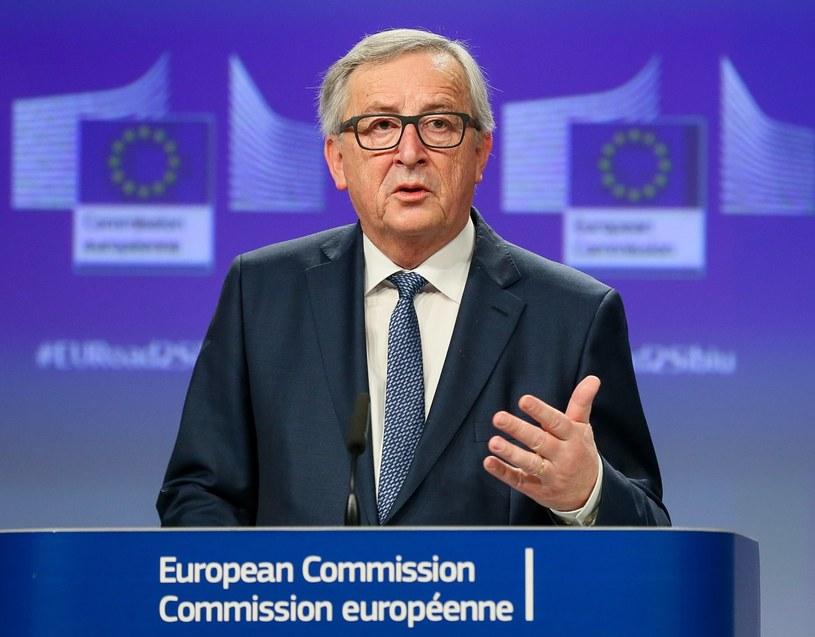 Jean-Claude Juncker /STEPHANIE LECOCQ  /PAP/EPA