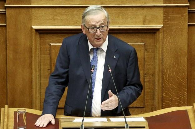 Jean-Claude Juncker /SIMELA PANTZARTZI  /PAP/EPA