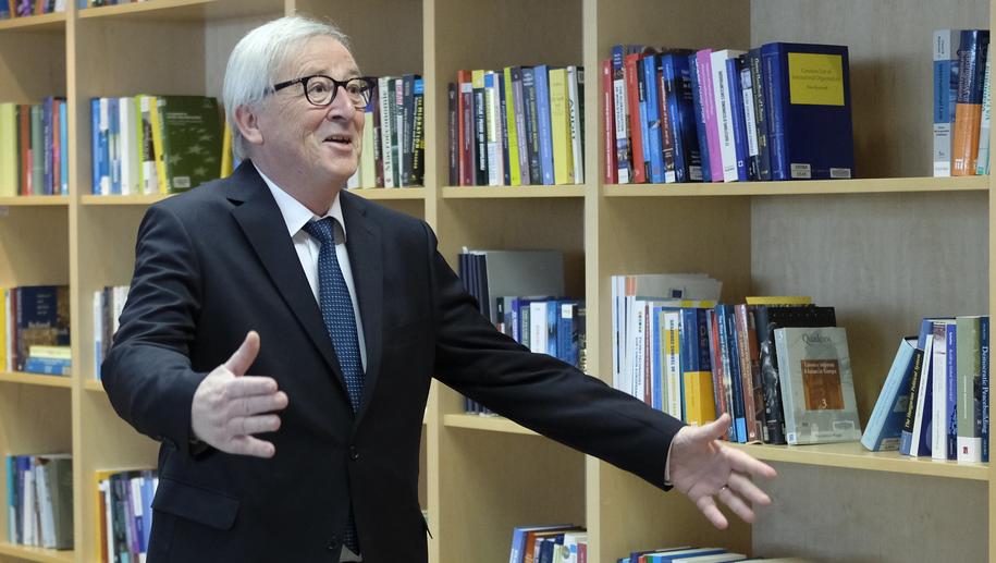 Jean-Claude Juncker /OLIVIER HOSLET /PAP/EPA