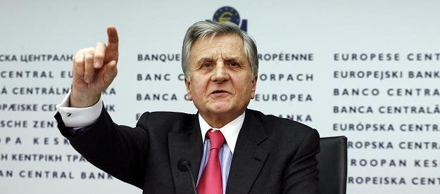 Jean-Claude Trichet, szef EBC /AFP