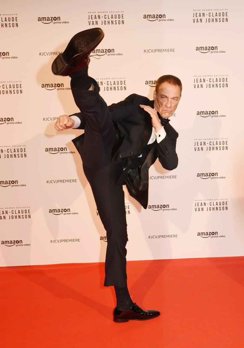 Jean-Claude Van Damme wciąż jest w wielkiej formie /Foc Kan/WireImage /Getty Images