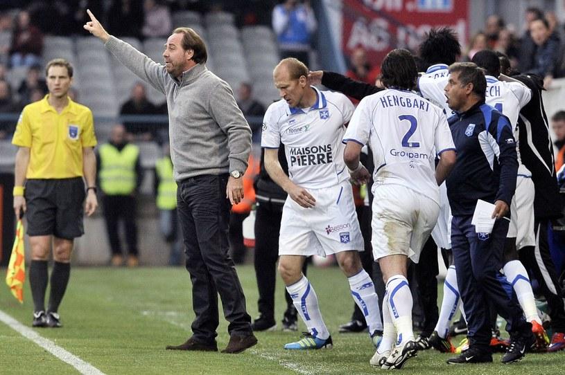 Jean-Guy Wallemme skupi się na pracy w Auxerre /AFP