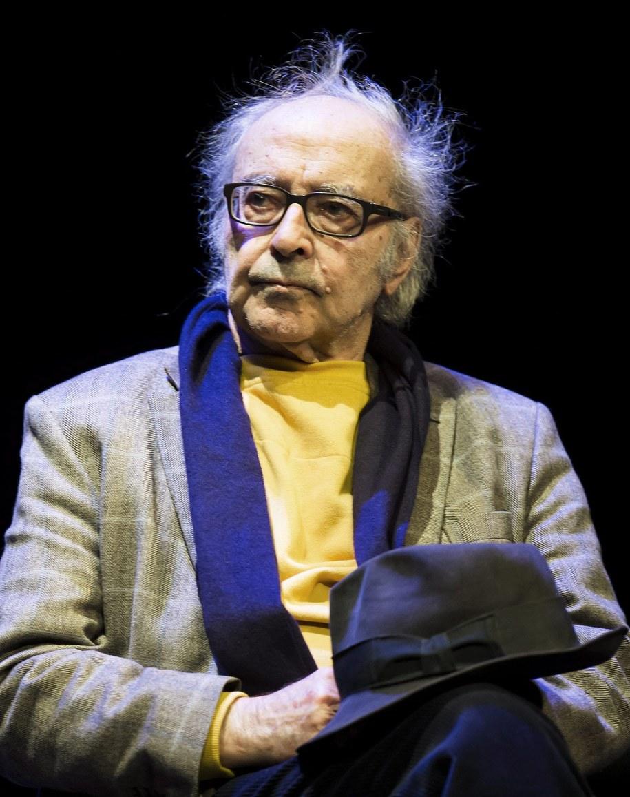 Jean-Luc Godard /JEAN-CHRISTOPHE BOTT /PAP/EPA