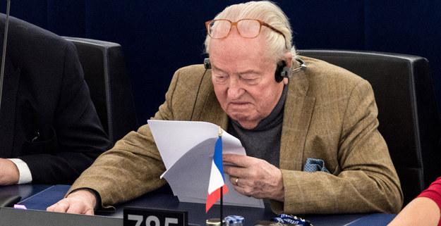 Jean-Marie Le Pen /EPA/PATRICK SEEGER  /PAP/EPA