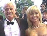 Jean-Paul Belmondo z żoną Natty /Archiwum