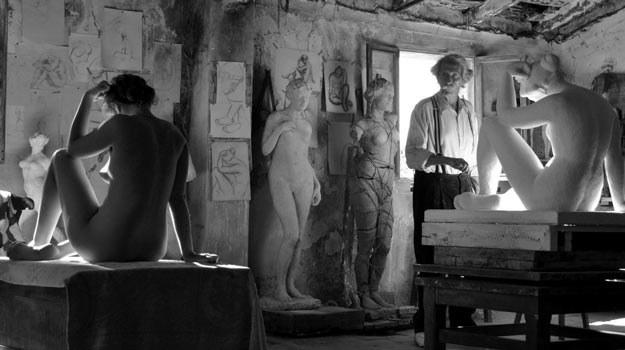 Jean Rochefort jako artysta, Aida Folch w roli modelki /materiały dystrybutora