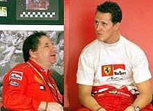 Jean Todt i Michael Schumacher /poboczem.pl