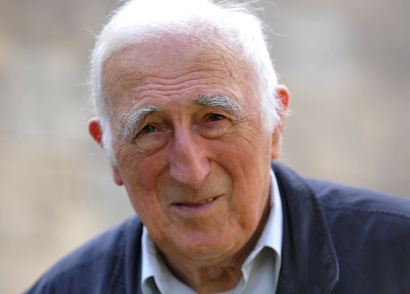 """Jean Vanier, założyciel chrześcijańskiej wspólnoty """"Arka"""". /TIZIANA FABI/AFP/East News /East News"""