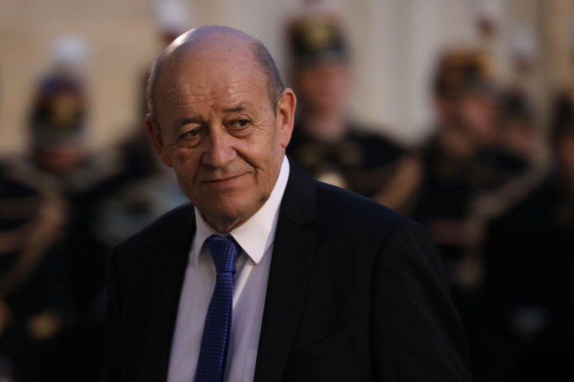 Jean-Yves Le Drian /LUDOVIC MARIN /AFP