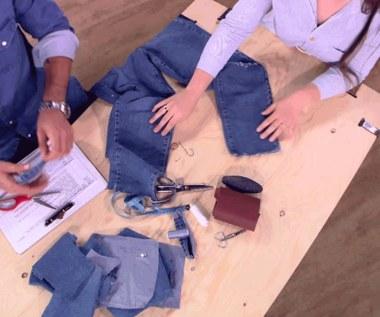 Jeansy z dziurami czy dziury z jeansami?