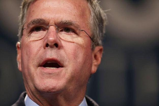 Jeb Bush powalczy o Biały Dom fot. JOE RAEDLE /AFP