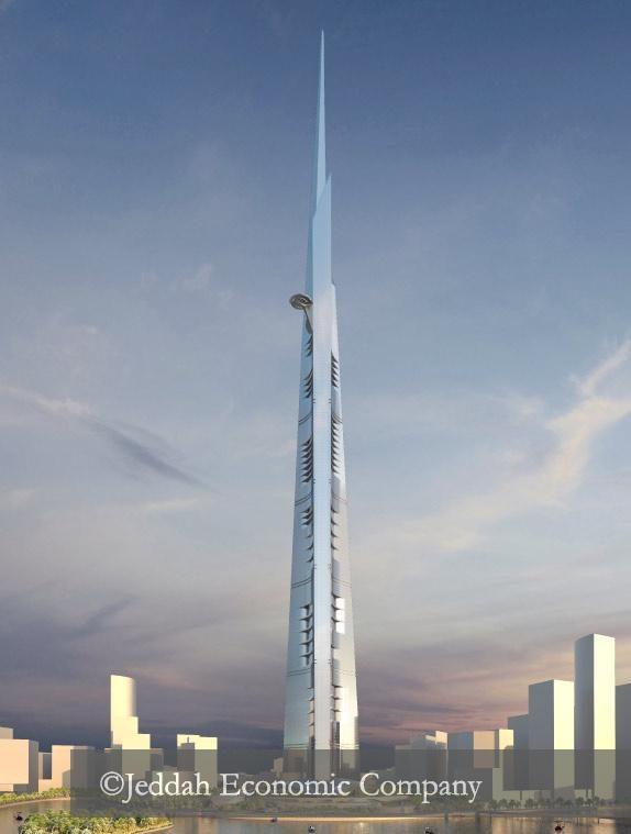 Jeddah Tower ma się piąć na co najmniej 1000 metrów w górę /materiały prasowe