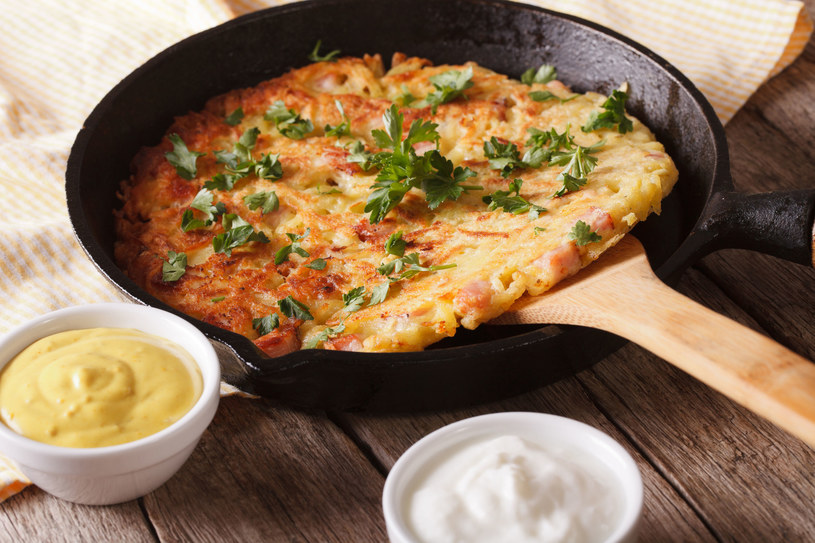 Jeden placek może zastąpić danie obiadowe /123RF/PICSEL