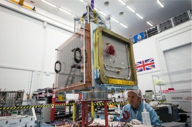Jeden satelita Carbonite już jest na orbicie /materiały prasowe