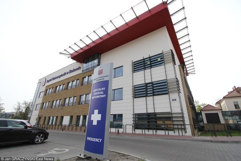 Jeden z budynków Szpitala Uniwersyteckiego w Krakowie /Jan Graczyński /East News