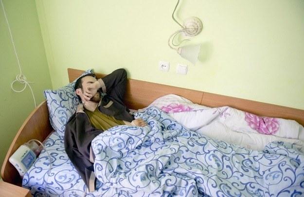 Jeden z dwóch pojmanych przez Ukraińców rosyjskich żołnierzy /AFP