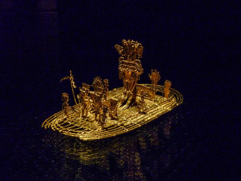 Jeden z eksponatów pochodzący z Muzeum Złota w Bogocie (Kolumbia) /123RF/PICSEL