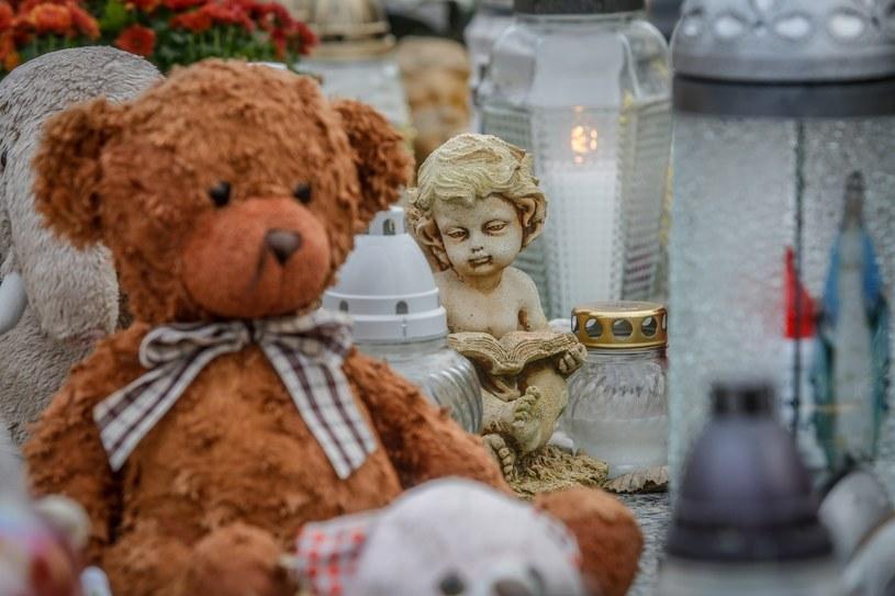 Jeden z grobów dzieci w Gdańsku; zdj. ilustracyjne /KAROLINA MISZTAL/REPORTER /East News