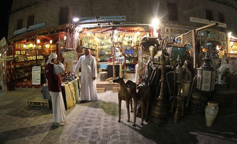 Jeden z katarskich sklepów /AFP