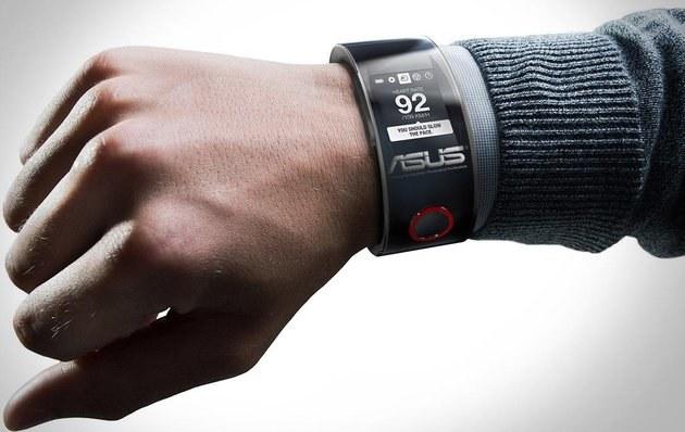 Jeden z konceptów smartwatcha Asusa. /materiały prasowe