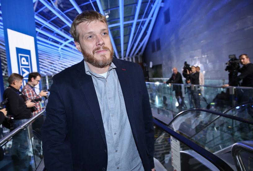 Jeden z liderów Rartii Razem Adrian Zandberg /Rafał Guz /PAP
