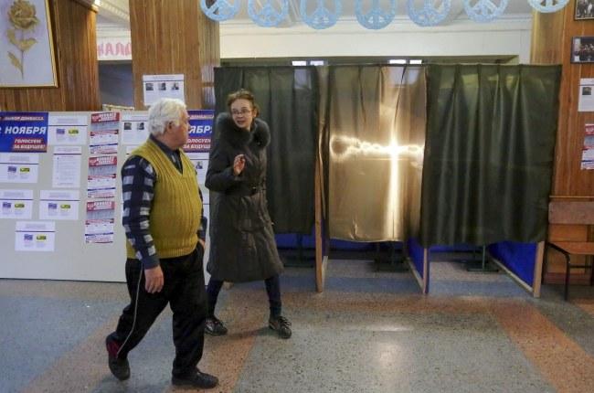 Jeden z lokali wyborczych /ANASTASIA VLASOVA /PAP/EPA