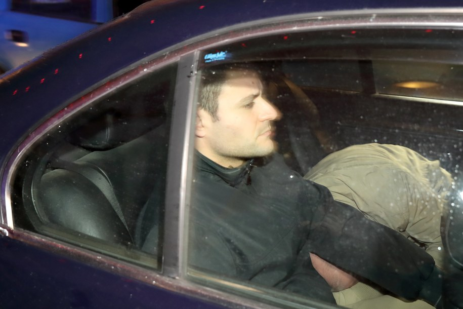 Jeden z mężczyzn zatrzymanych ws. zabójstwa dziennikarki /DOMENIC AQUILINA /PAP/EPA