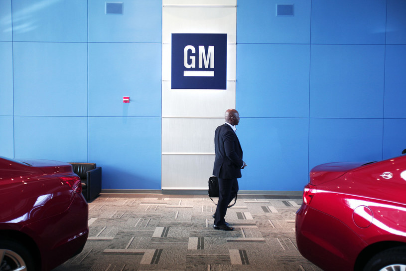 Jeden z najstarszych i największych producentów samochodów - amerykański General Motors dostrzega bitciona /AFP