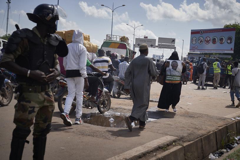 Jeden z niedawnych protestów w Bamako /AFP