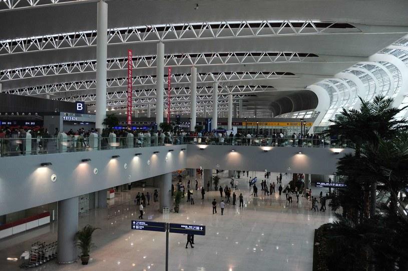 Jeden z nowootwartych portów lotniczych w Chinach /AFP