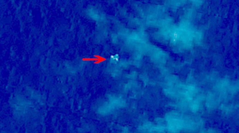 Jeden z obiektów wykrytych przez chińskiego satelitę /AFP